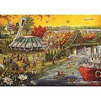 1000pc Trefl Happy B-Day Montreal