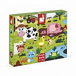 Tactile Puzzle - Farm Animals 20pc