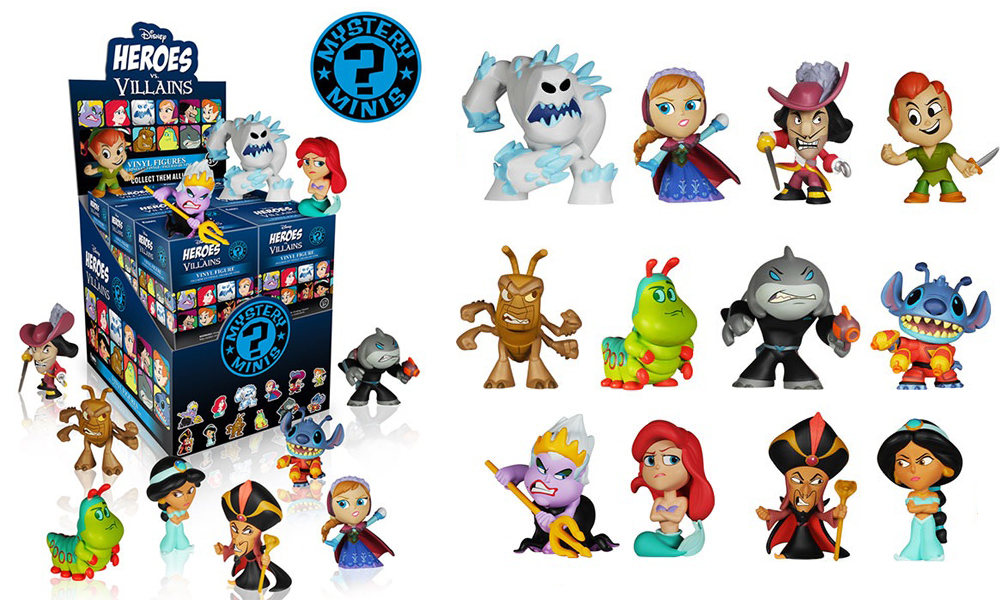 Mystery Minis Disney Heroes Vs Villains The Granville