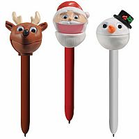 Christmas Puppet-on-a-Pen