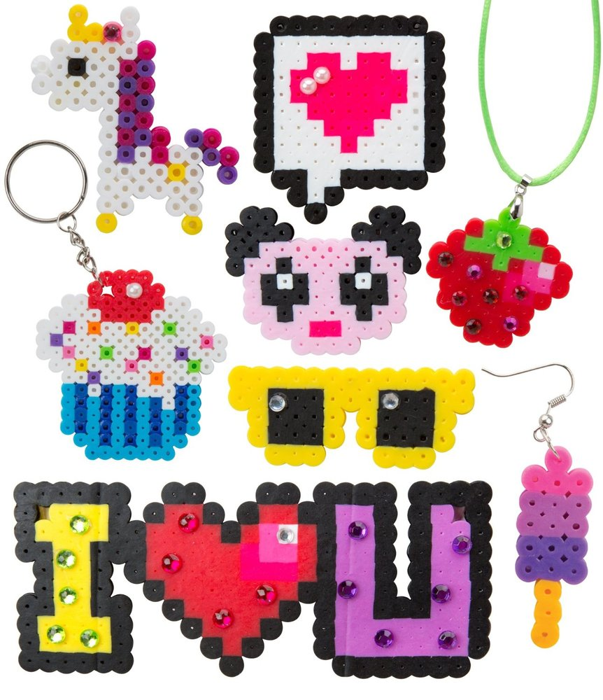 Pixel Art Jewellery The Granville Island Toy Company
