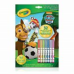 Crayola Paw Patrol Color Wonder colouring Pad & Markers
