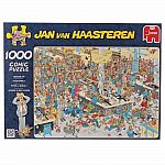 Jan Van Haasteren Queued Up 1000pc Puzzle