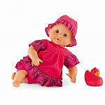 "Mon Premiere 12"" Bath Doll Raspberry"