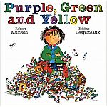 Robert Munsch: Purple, Green & Yellow Mini Book