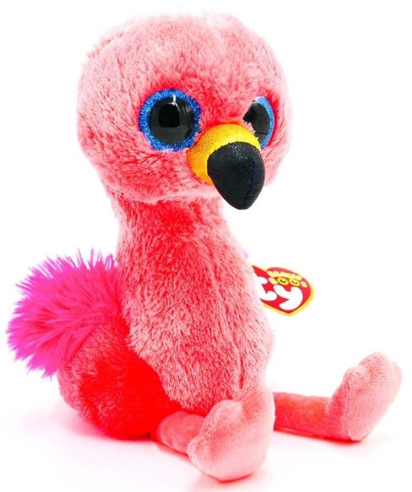 Ty Gilda Flamingo Beanie Boo Small - The Granville Island Toy Company a88b2fa2e3b