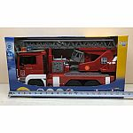 MAN Fire engine with ladder, water pump and Light & SoundModule