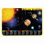 Painless Learning Solar System Placemat