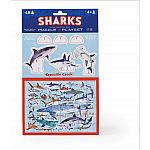 48pc Shark Pop-Out Puzzle