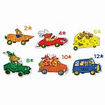 36pc Floor: Richard Scarry Cars and...