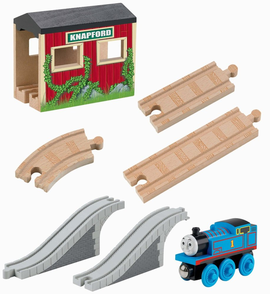 Thomas Friends Wooden Railway Up And Around Sodor 5 In 1 Set