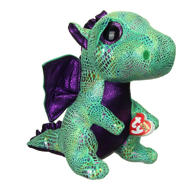 Ty Cinder Dragon Beanie Boo Small - The Granville Island Toy Company 1b188b785fc