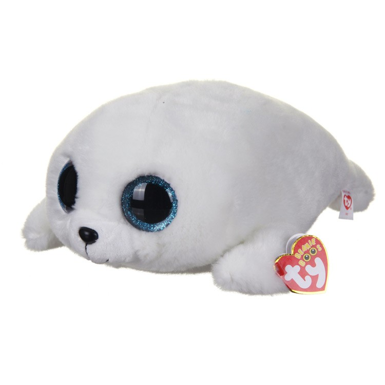 Ty Icy White Seal Beanie Boo Large - The Granville Island Toy Company 7d992b854c8
