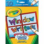 Crayola 10 Washable Window Writers