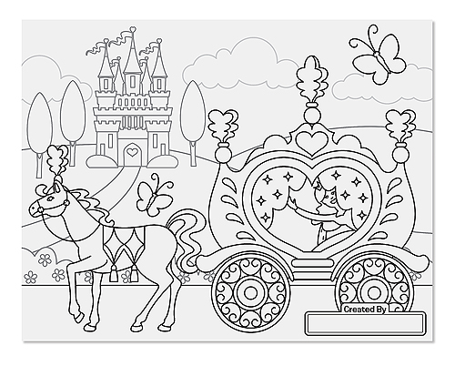 Jumbo Coloring Pad Princess Fairy on toy store locations