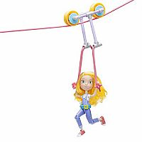 GoldieBlox Action Figure w/Zipline