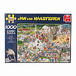 Jan van Haasteren - The Zoo 1000 Piece Puzzle